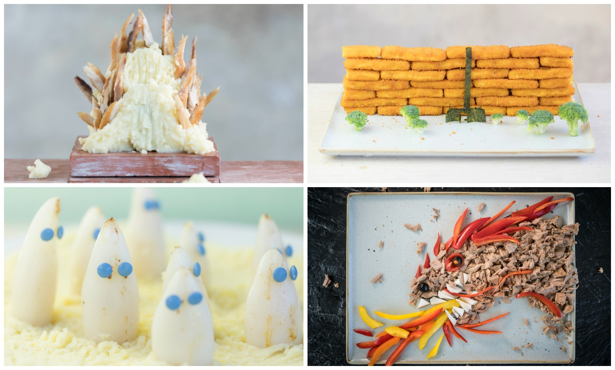 These Game of Thrones inspired fish dishes have been put together by SeaFish