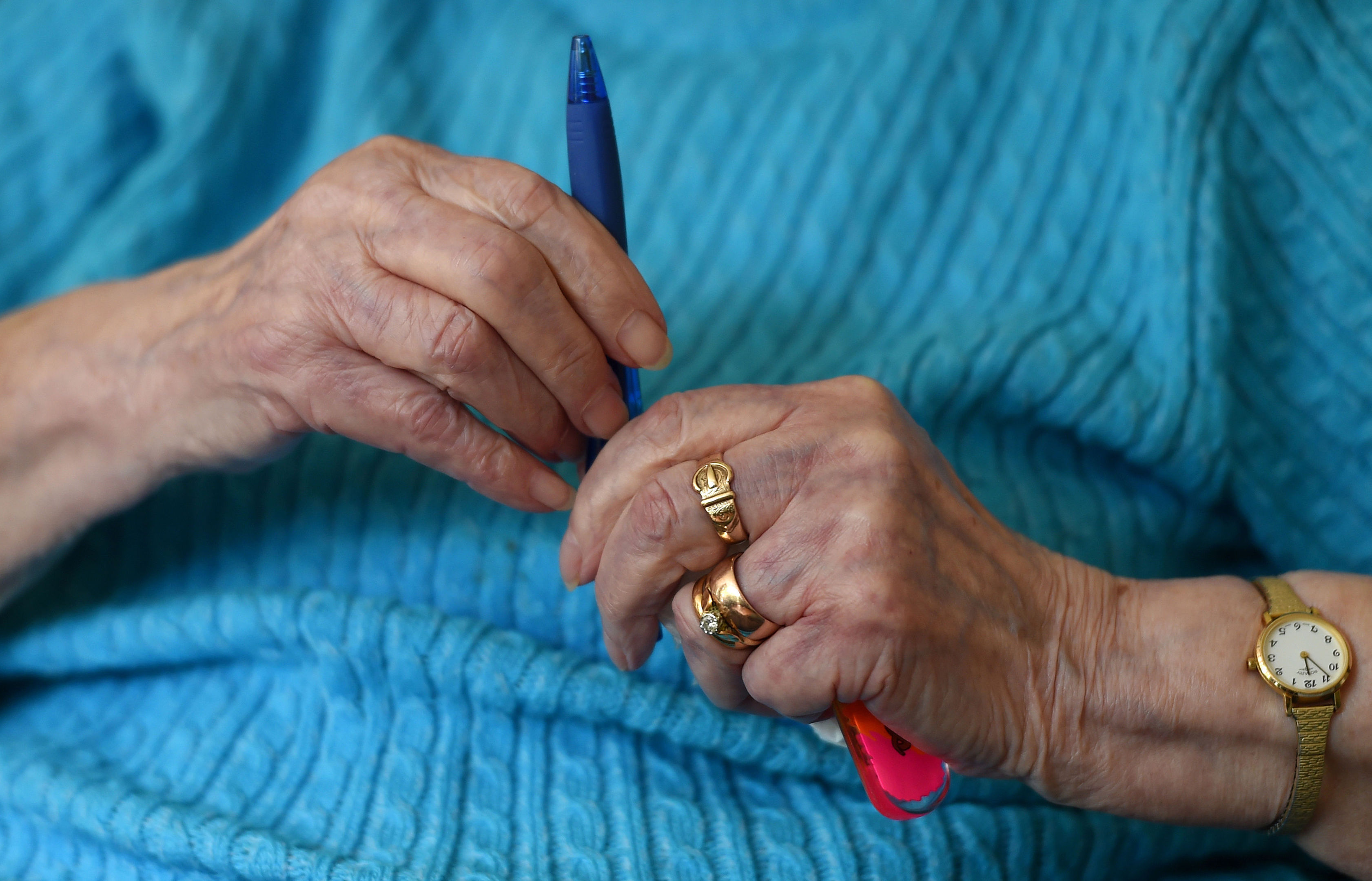 More than two-fifths of older people believe they have been targeted by scammers, with single people more likely to be tricked than their married counterparts, according to a new study. (Joe Giddens/PA Wire)