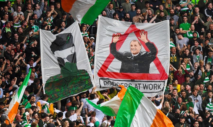 Celtic hit out at Green Brigade