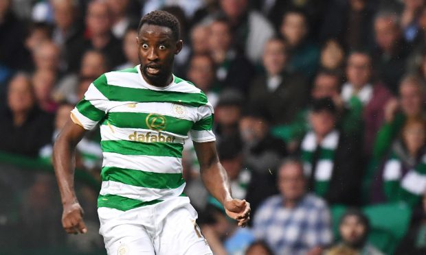 Moussa Dembele in action for Celtic (SNS)
