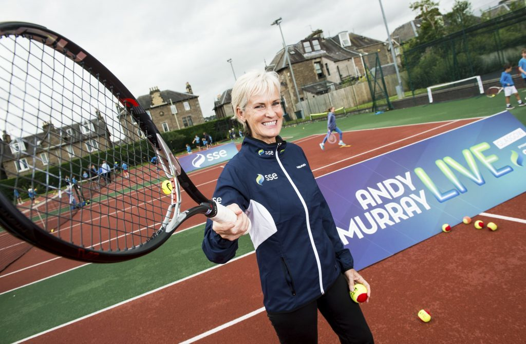 Where does judy murray live