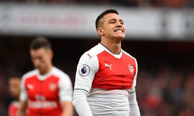 Arsenal's Alexis Sanchez (Dominic Lipinski/PA Wire)