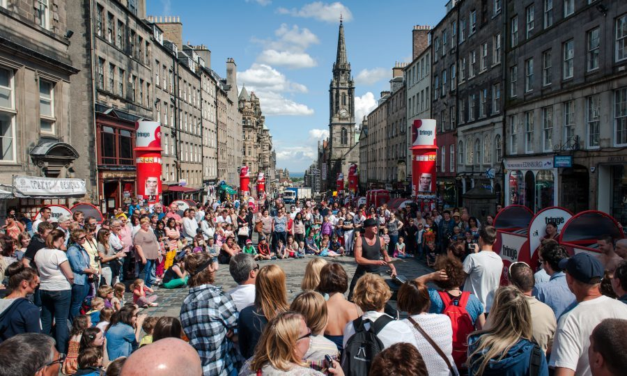 Scotland's capital played host to the world's first fringe in 1947 when eight theatre groups turned up uninvited to perform at the Edinburgh International Festival (iStock)
