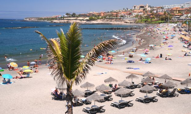 Playa de Torviscas in Adeje on Tenerife (Getty Images)
