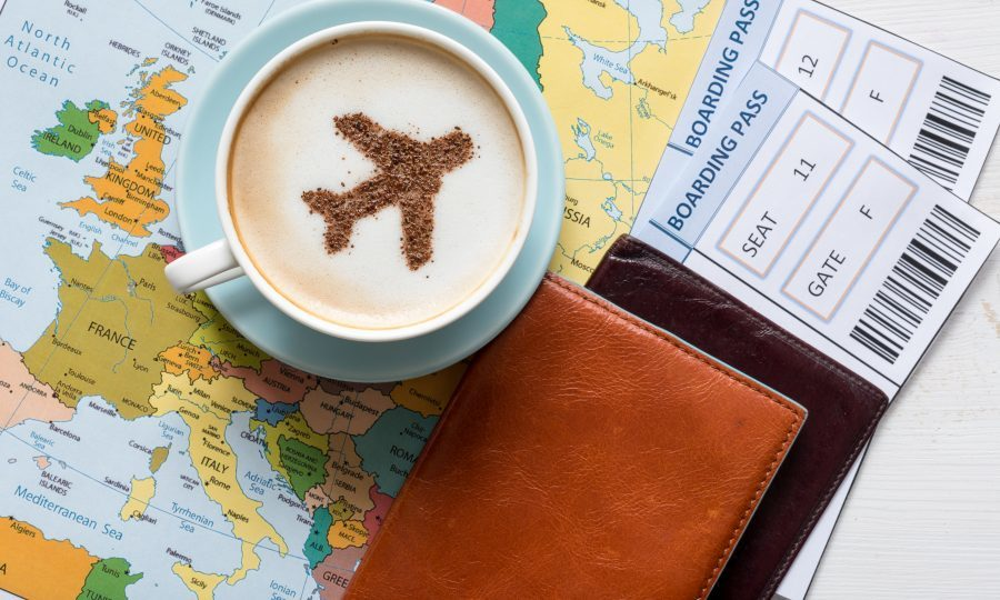 More than 1.5 million airport check-ins or holiday posts were made about trips in June (iStock)