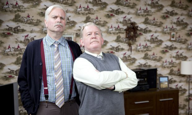 Still Game stars Greg Hemphill and Ford Kiernan (BBC Scotland)