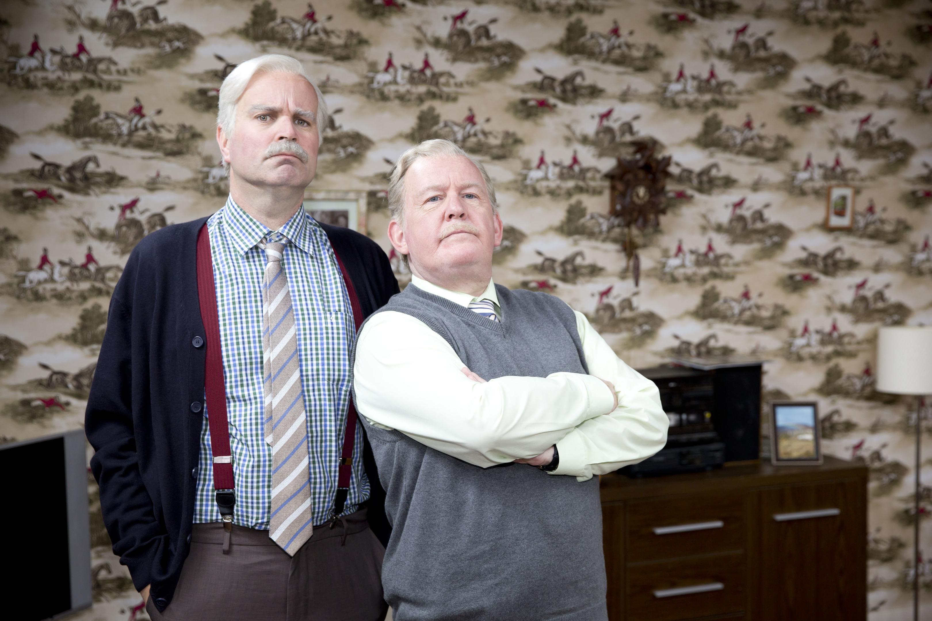 Still Game stars Greg Hemphill and Ford Kiernan (BBC Scotland)