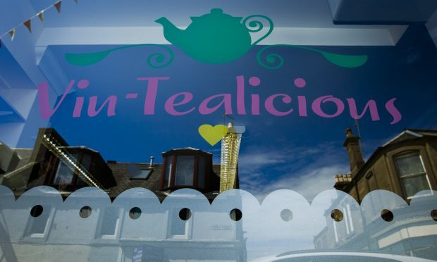 Vin-Tealicious cafe in Arbroath (Andrew Cawley)
