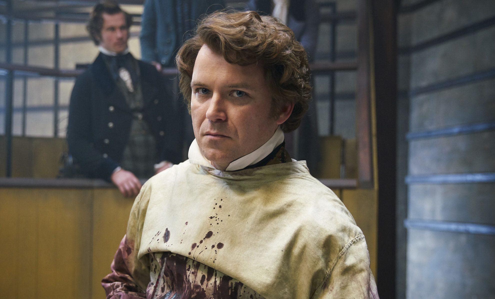 Rory Kinnear as Robert in Quacks (Lucky Giant / Mark Johnson)