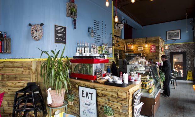 Cafe 13, in Govan Glasgow (Andrew Cawley, DC Thomson)