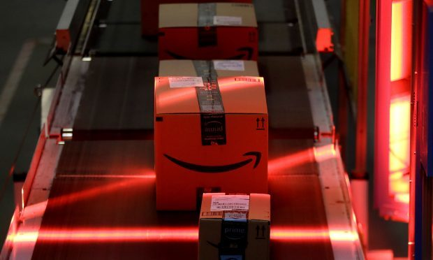 Amazon delivery depot (AP Photo/Julio Cortez)