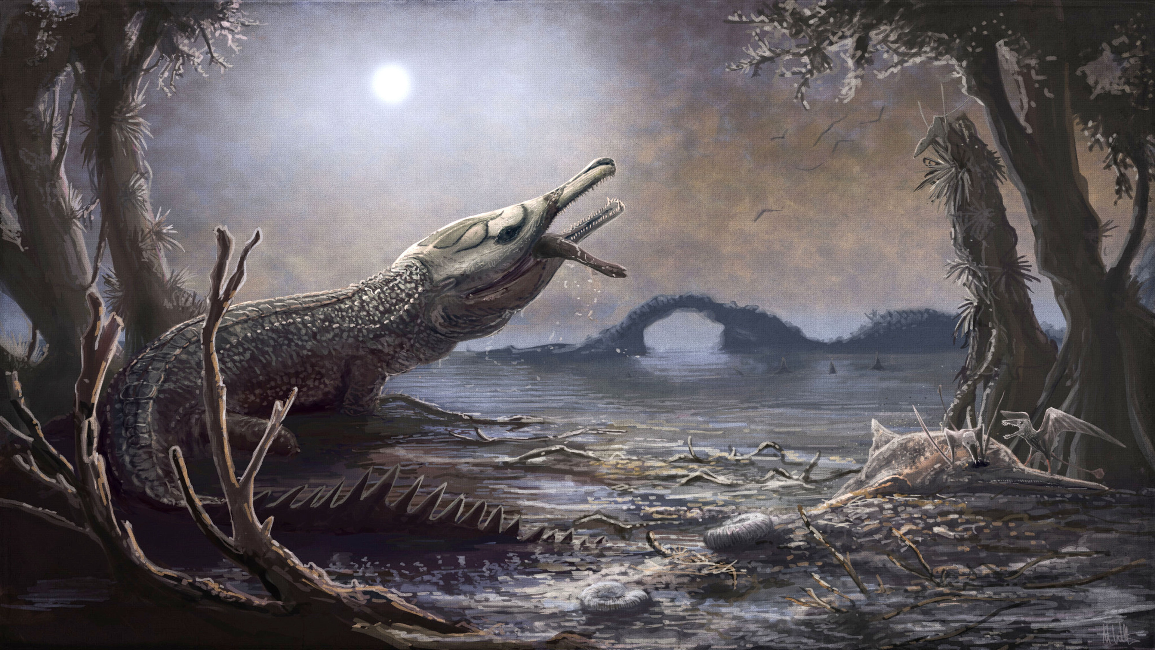 Motorhead frontman Lemmy has giant marine crocodile named after him