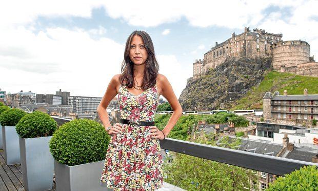 Hanna Stanbridge attends 'Let us pray' photocall at Apex International Hotel during the Edinburgh International Film Festival (Roberto Ricciuti/Getty Images)