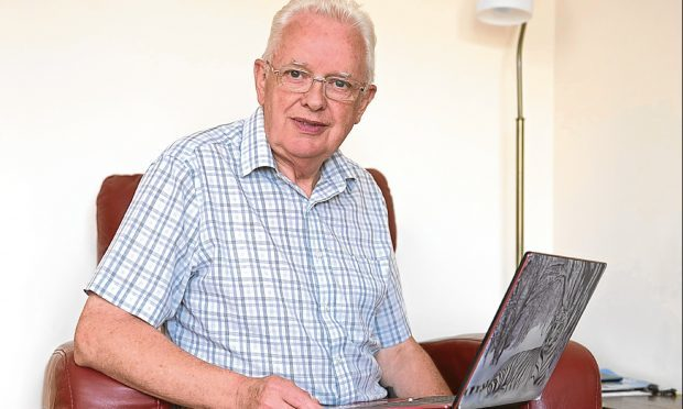 Alex Laird has online bank accounts with TSB but because he didn't log in at regular (monthly) intervals, TSB refused to pay any interest on the accounts. (Ross Johnston/Newsline Media)