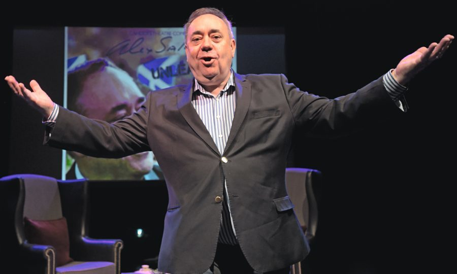 Former First Minister Alex Salmond (Lesley Martin/PA Wire)