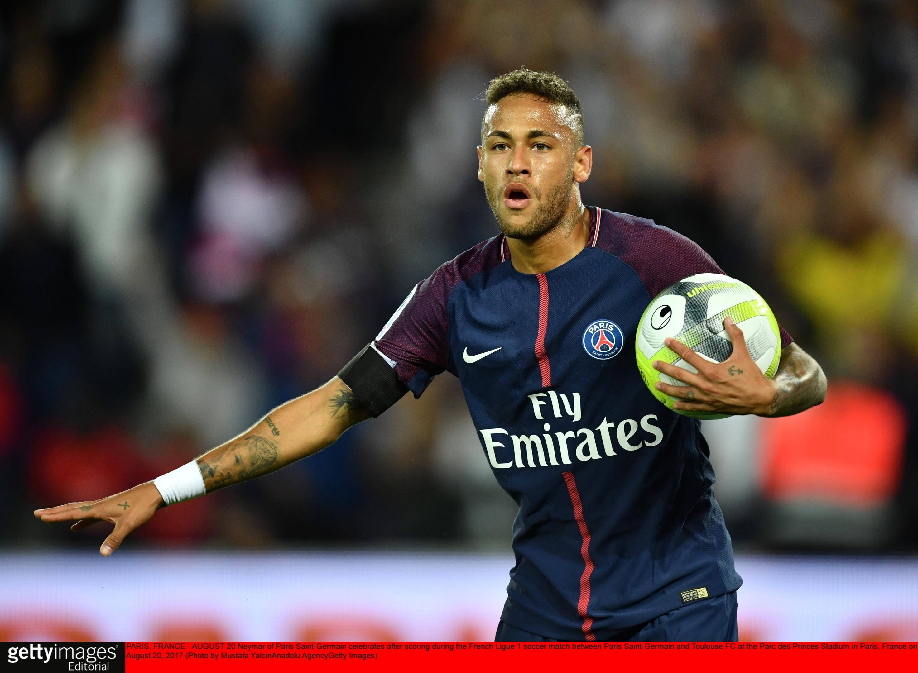 Olivier hopes to welcome Neymar to Celtic Park (Mustafa Yalcin/Anadolu Agency/Getty Images)
