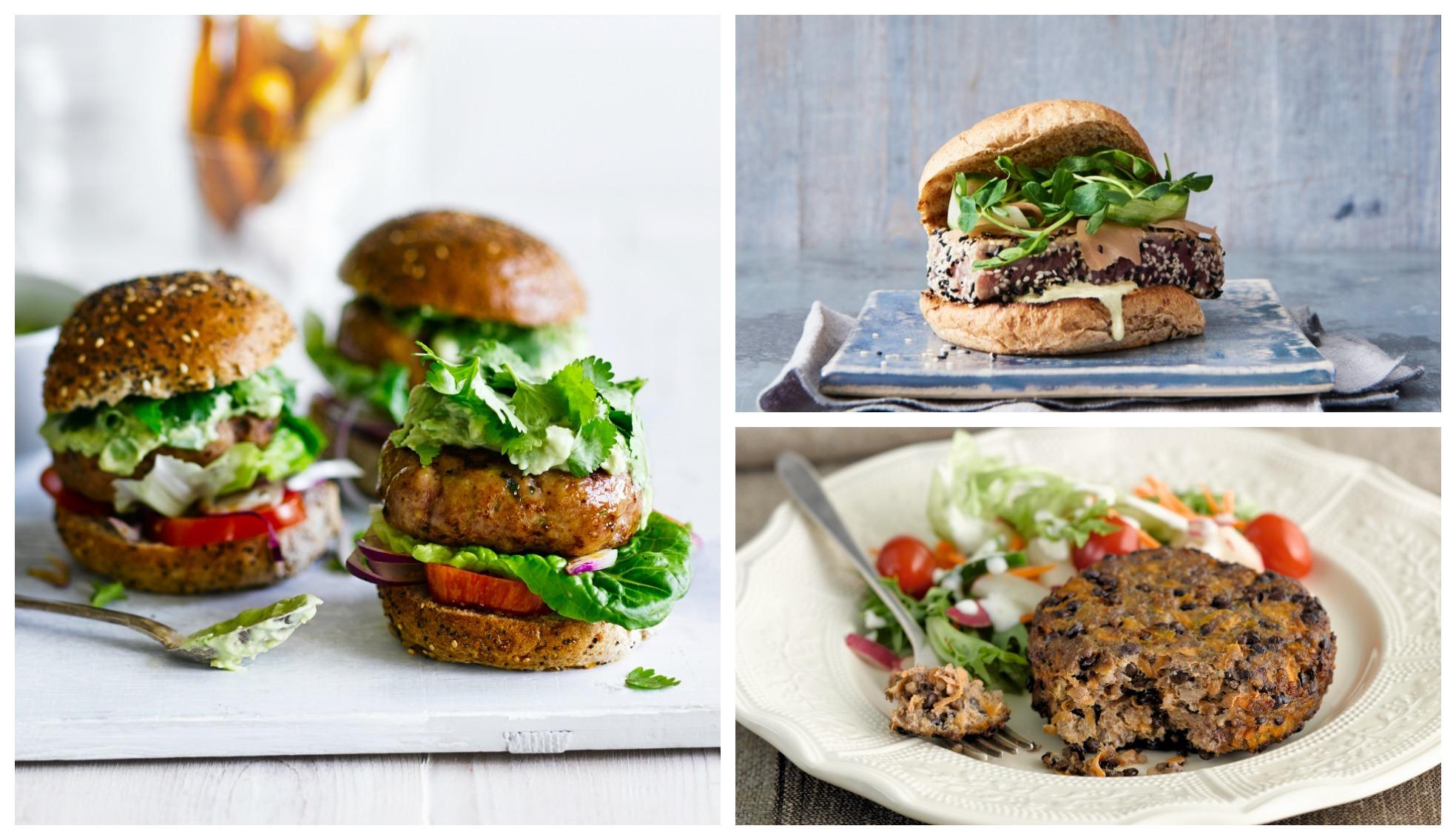 Burger recipes, courtesy of Waitrose
