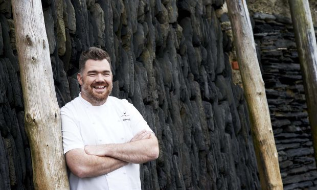 Nathan Outlaw, whose Cornish fish restaurant has been named the best in the UK - knocking Cumbria's L'Enclume into second place after five years at the top. (Kate Whitaker/Waitrose/PA Wire)