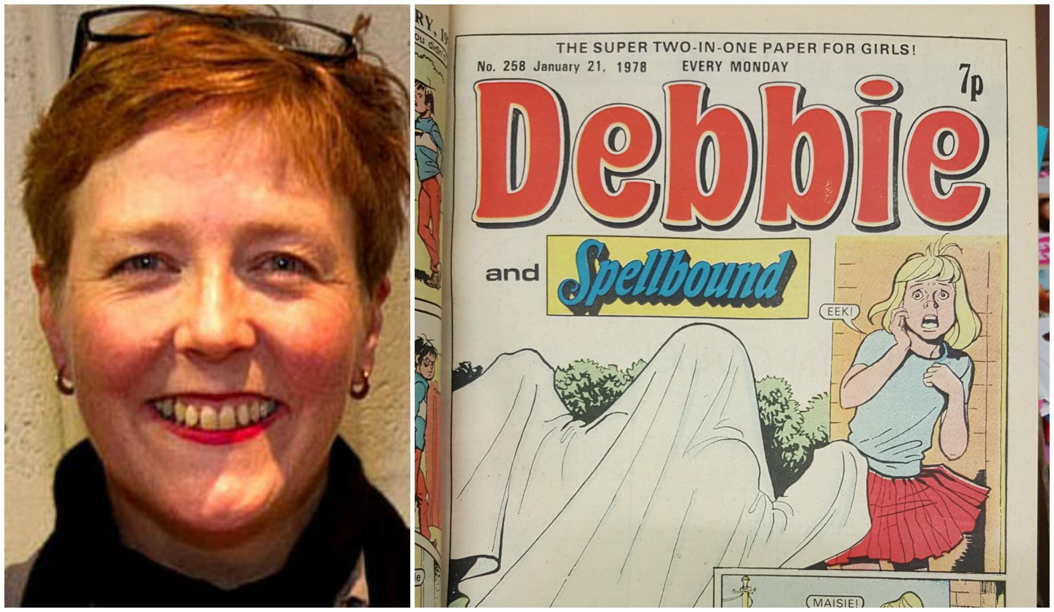 Jan Prentice was a big fan of the Debbie comic