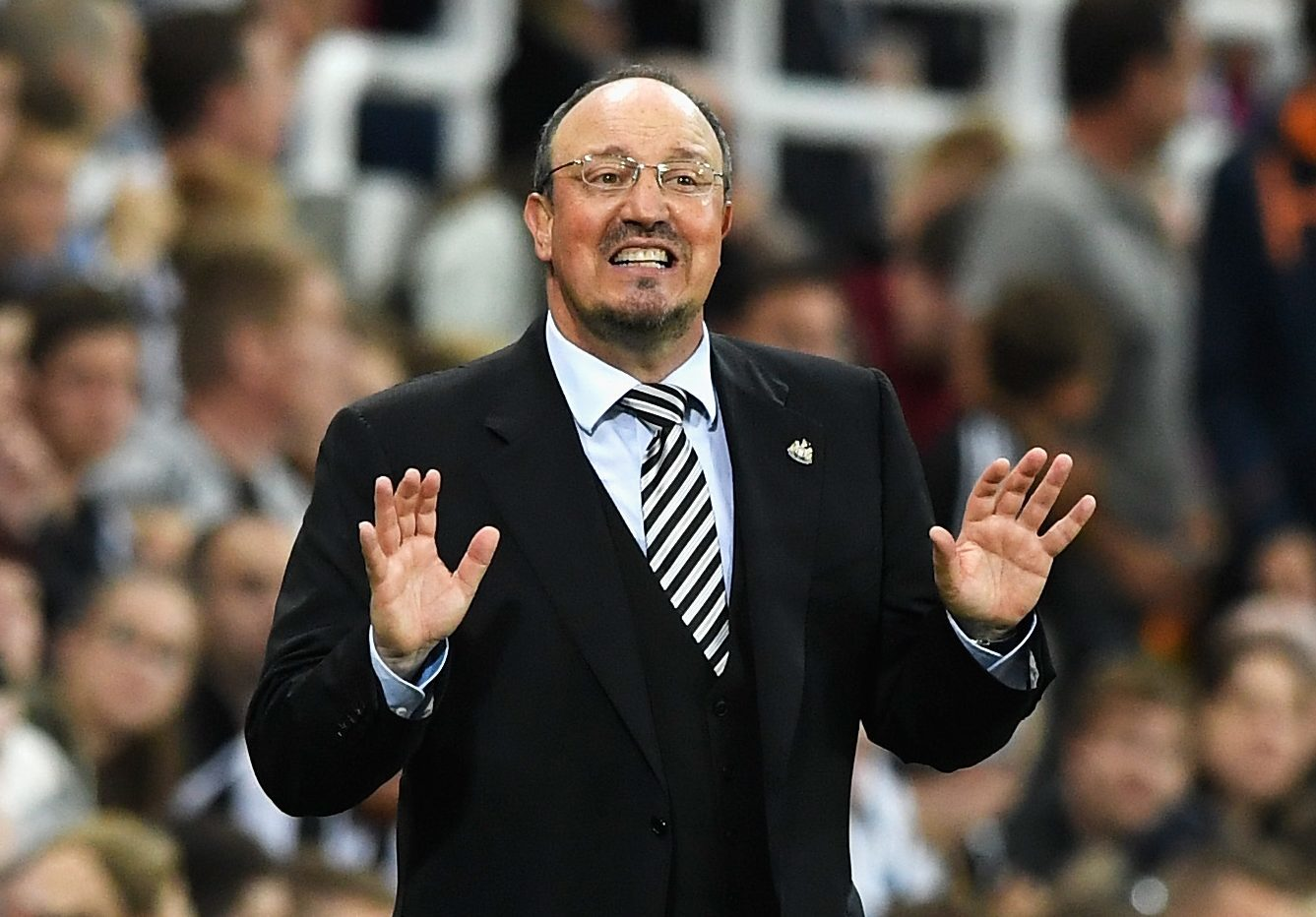 Rafael Benitez, Manager of Newcastle United (Stu Forster/Getty Images)