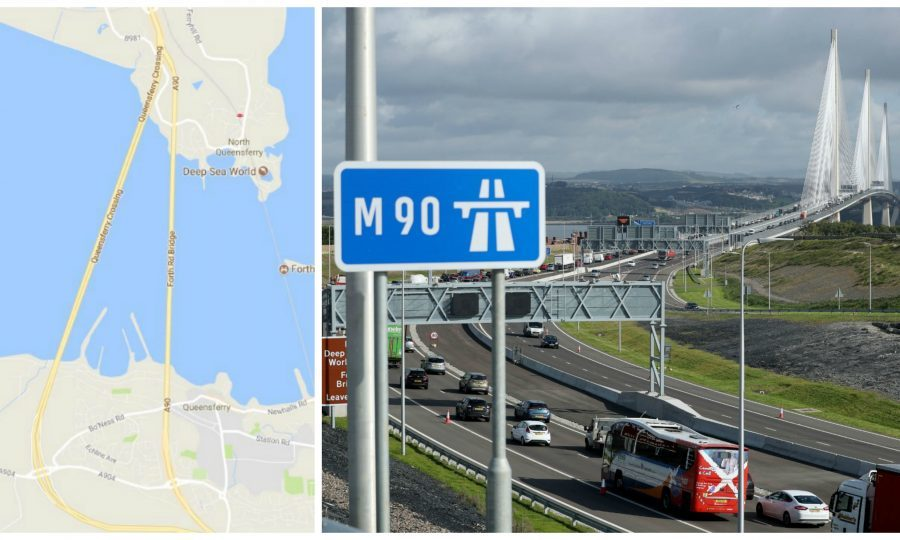 The Queensferry Crossing has now been added to Google Maps... but ...