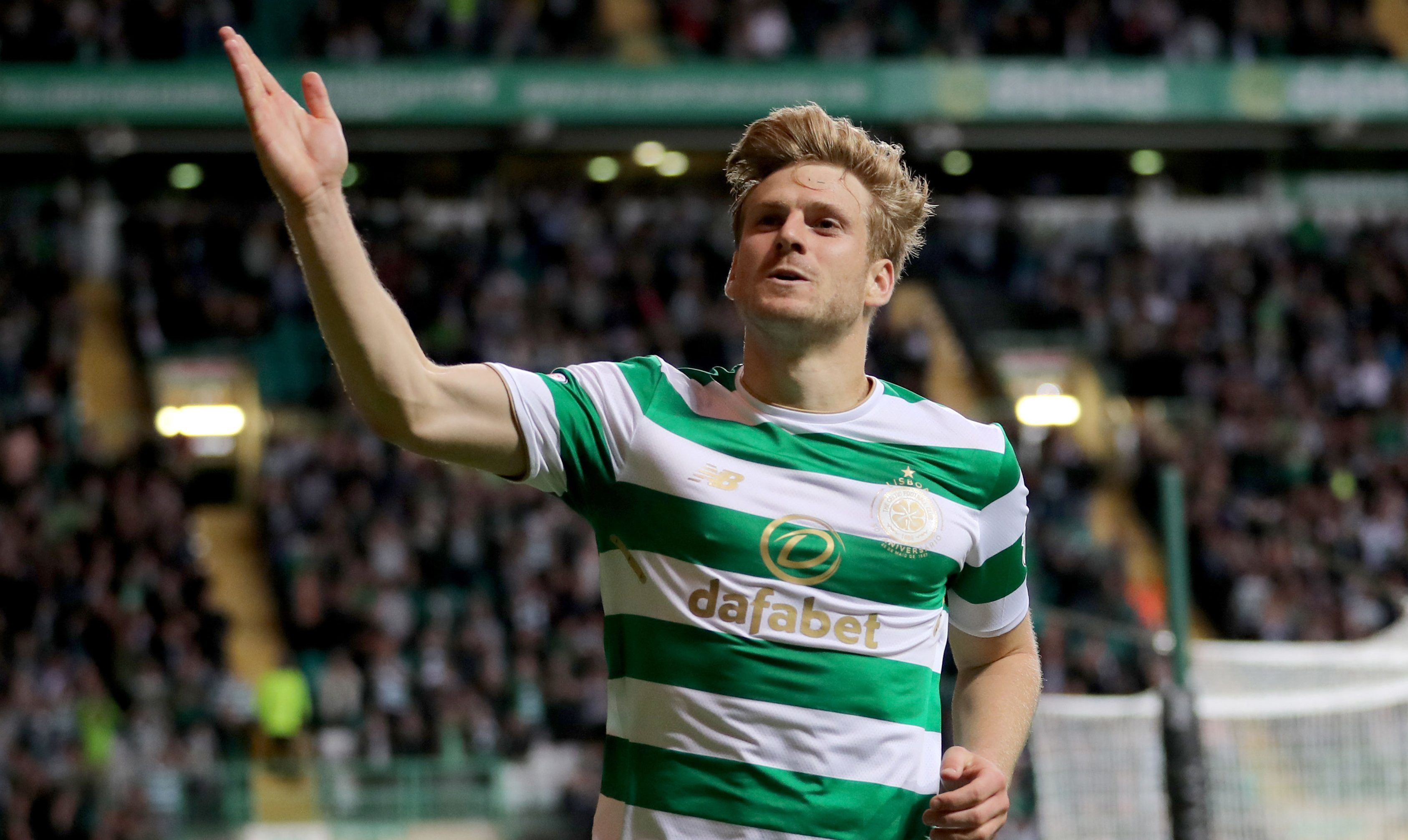 Celtic's Stuart Armstrong (Jane Barlow/PA Wire)