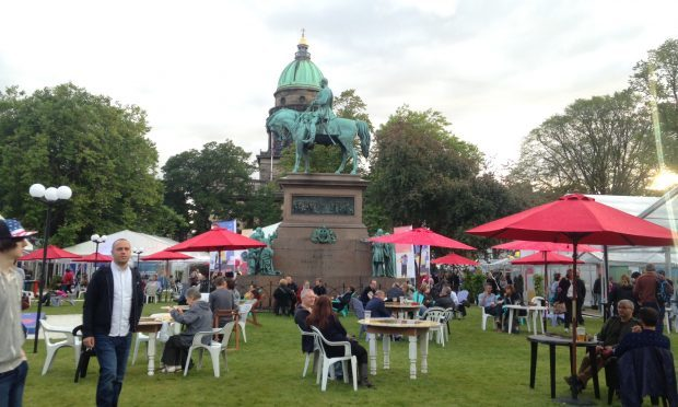 The 2017 Edinburgh Book Festival has been hailed as a success