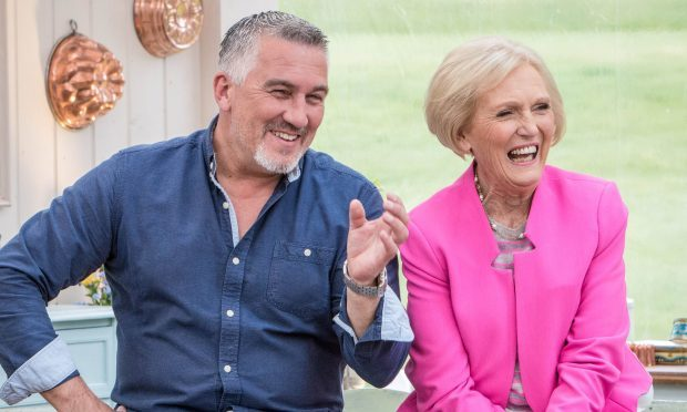 Bake Off's Paul Hollywood and Mary Berry (Mark Bourdillon/BBC/PA)