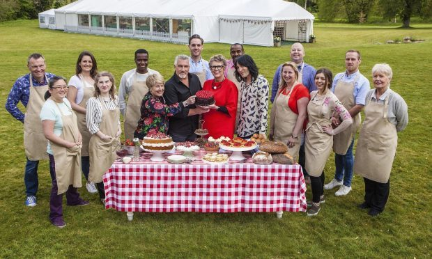 The cast of Great British Bake Off (Channel 4)