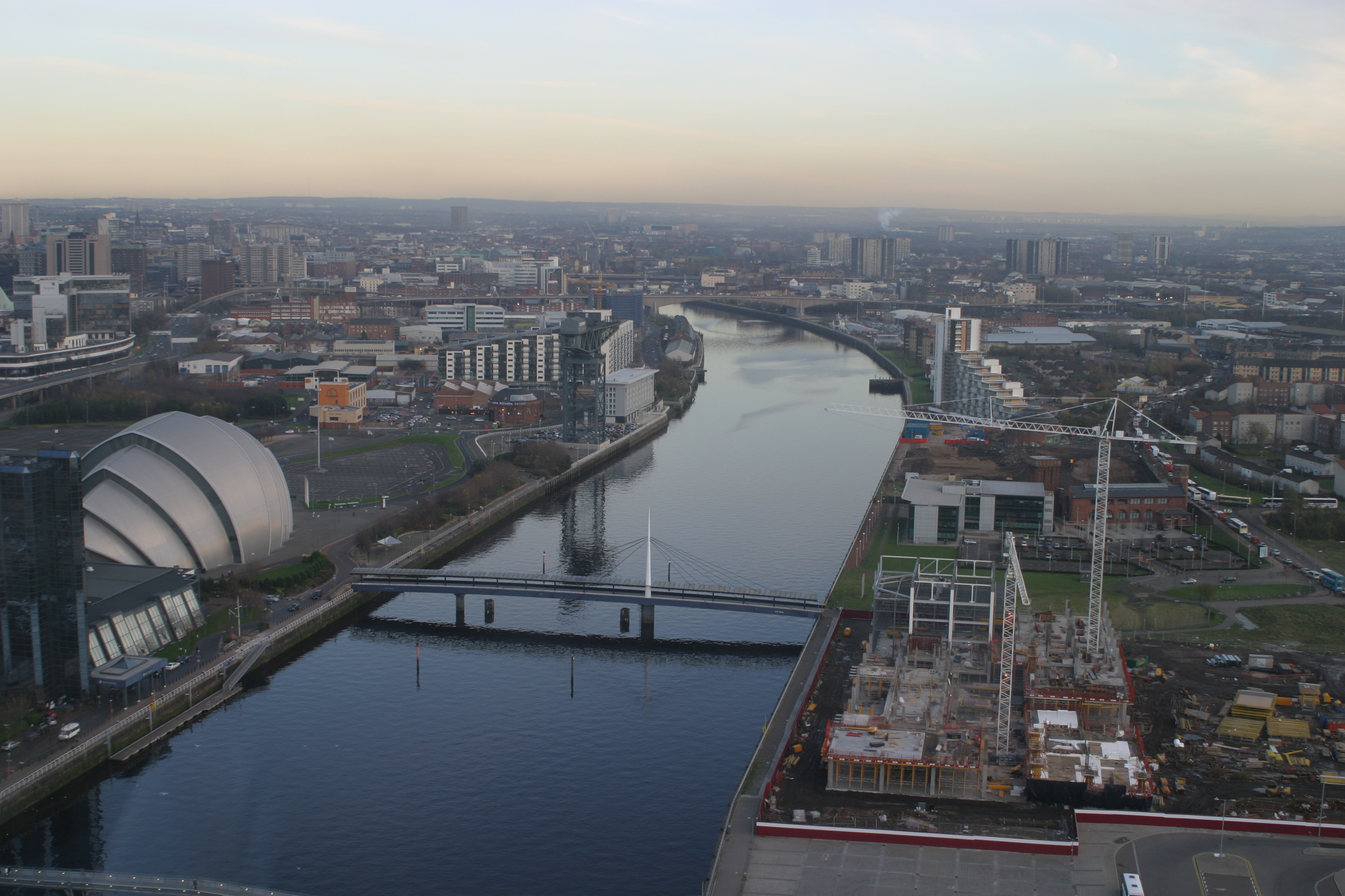 The River Clyde as it runs through Glasgow (iStock)