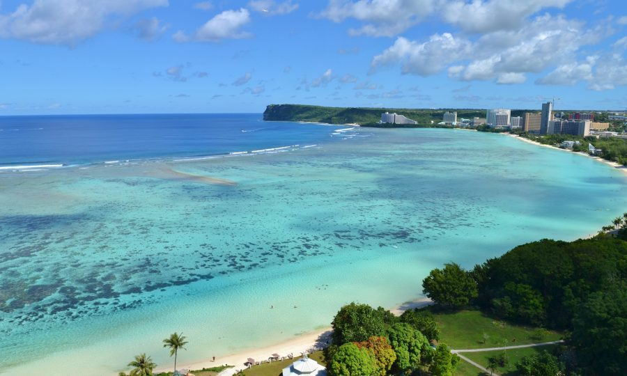 Tropical Tumon Bay in the tropical Pacific island of Guam (iStock)