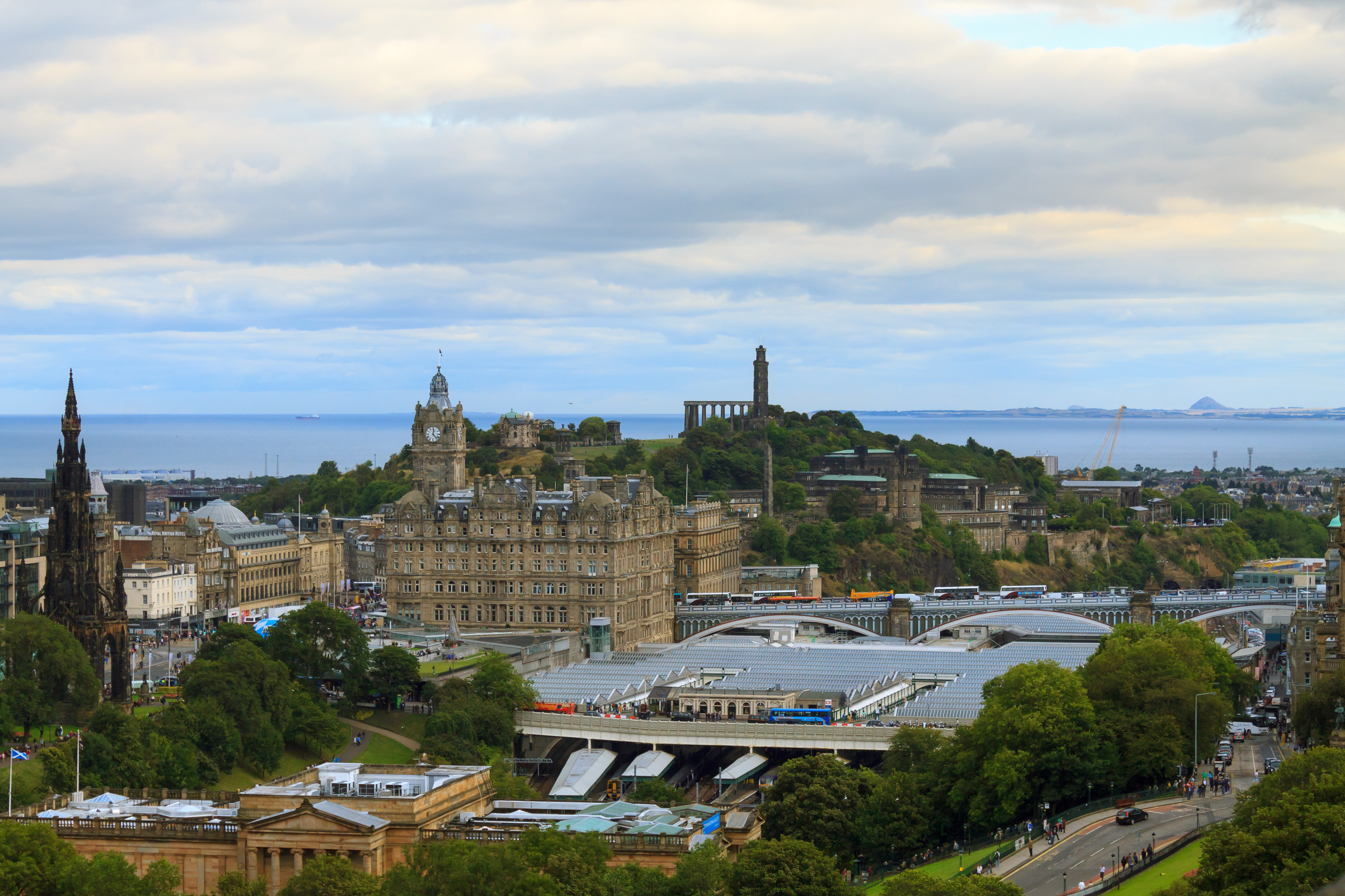 Edinburgh also claimed the top spot for ease of long distance travel (iStock)