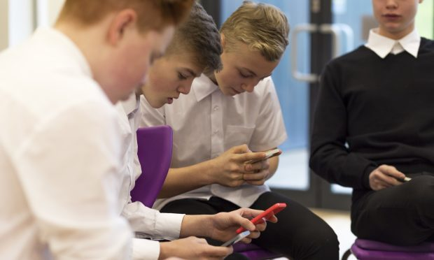 Michelle Ballantyne wants a ban on phones in primary schools and the introduction of restrictions on their use in secondary schools if headteachers deem it necessary (iStock)