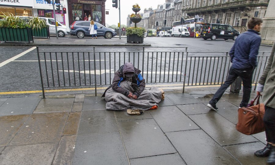 Homelessness set to double in 25 years, charity warns