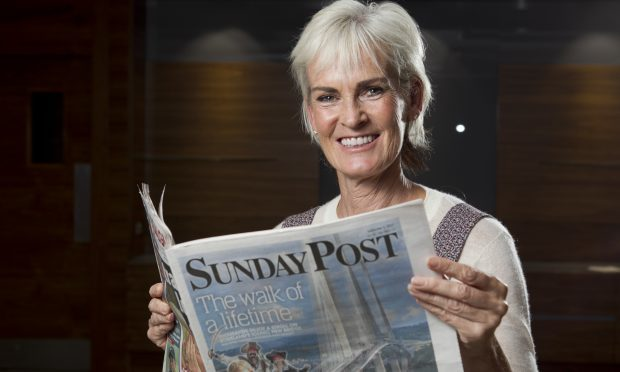 Meet our brand new columnist Judy Murray (Andrew Cawley / DC Thomson)