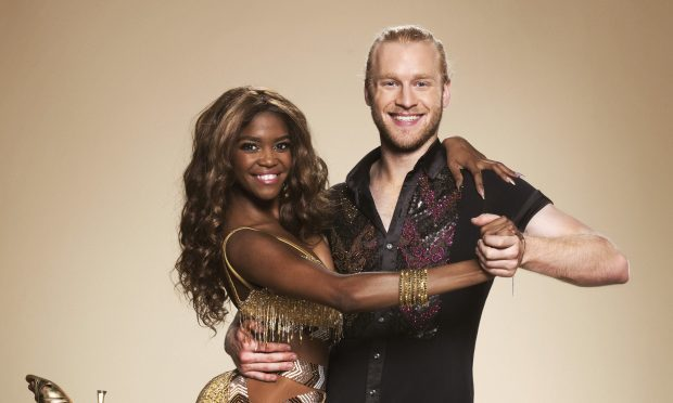Oti Mabuse, Jonnie Peacock (BBC, Ray Burmiston)