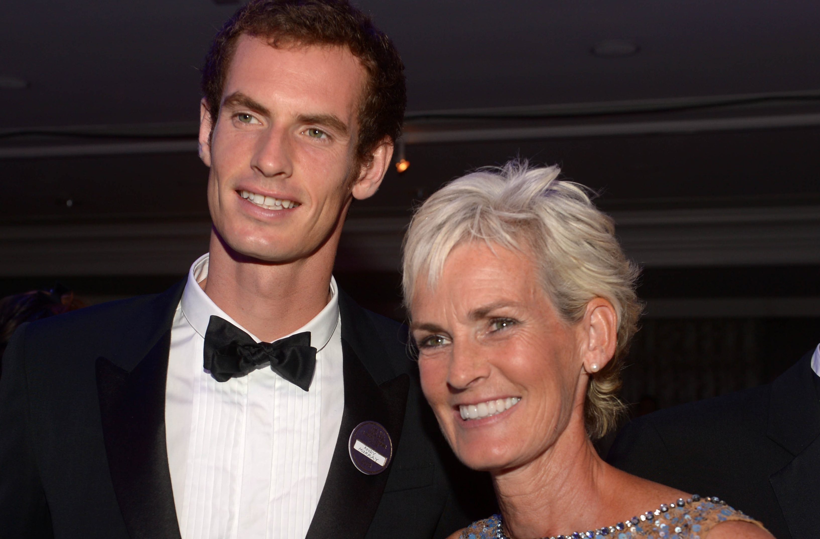 Andy Murray with his mother Judy (PA Archive)