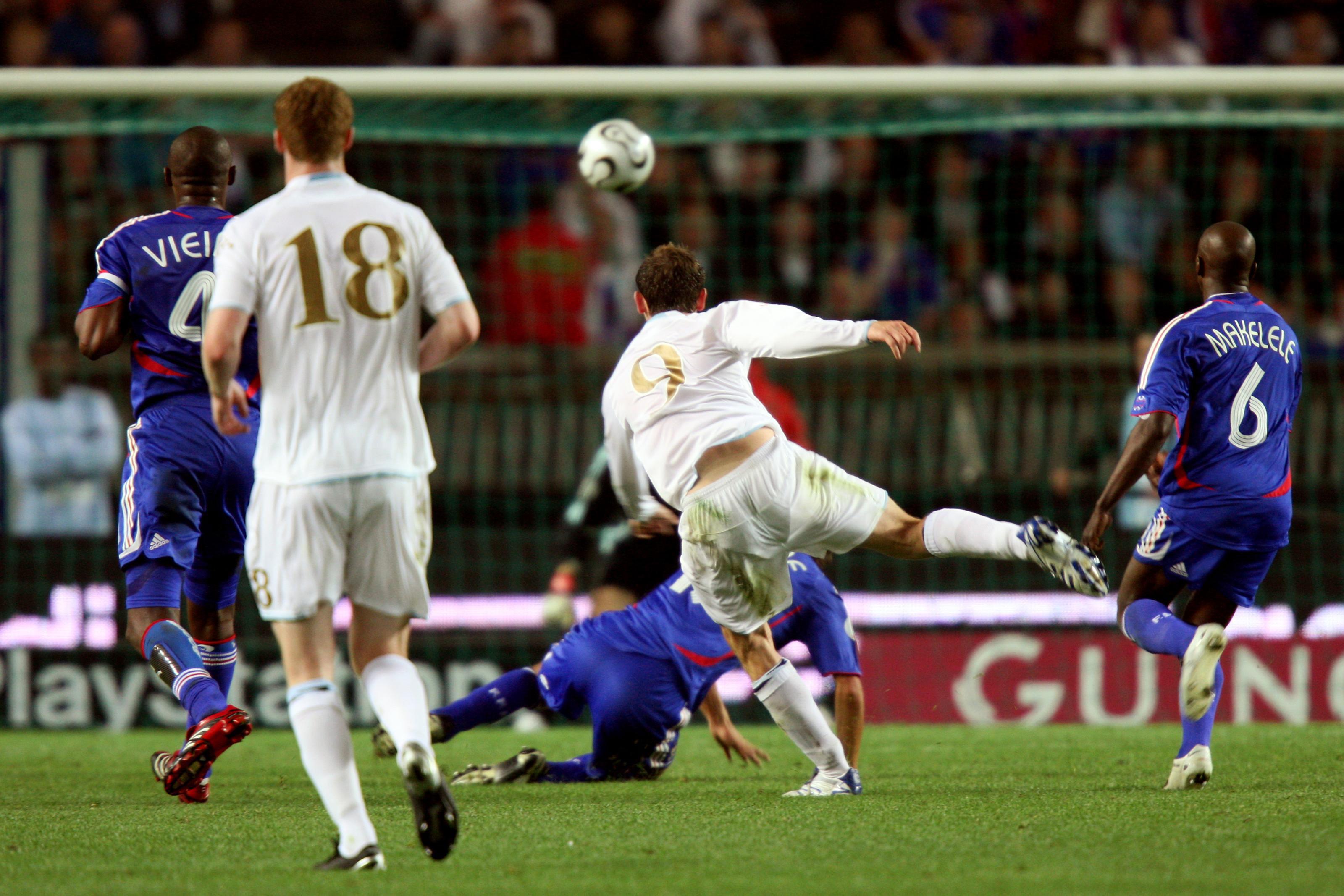 Scotland's James Mcfadden scores against France (David Davies/PA)