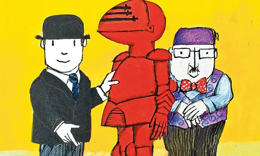Mr Benn and the Shopkeeper with the Red Knight (PA Photo/David McKee)