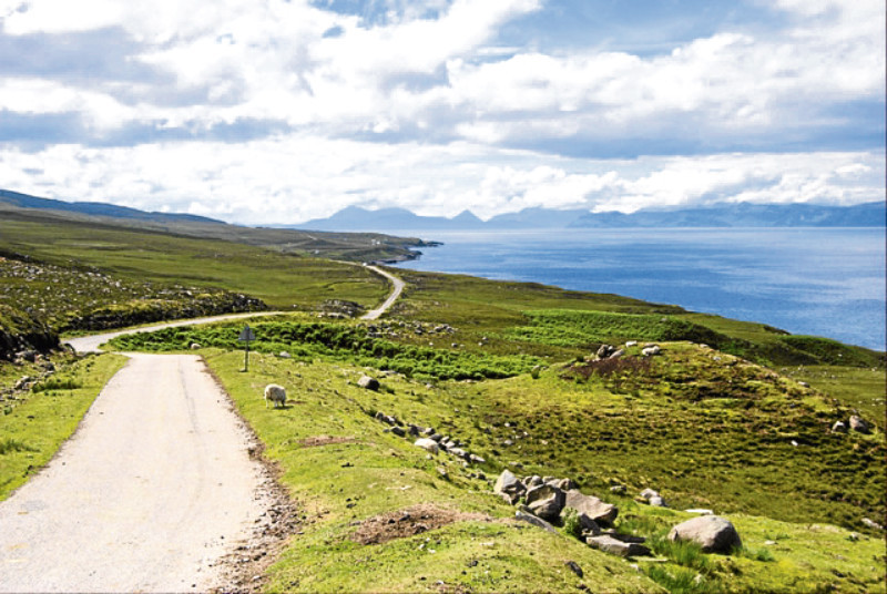 The NC500 route has some stunning scenery