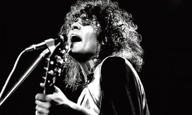 Marc Bolan performing in 1973 (Allstar Picture Library)