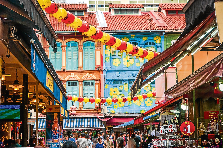 Singapore China town (iStock)