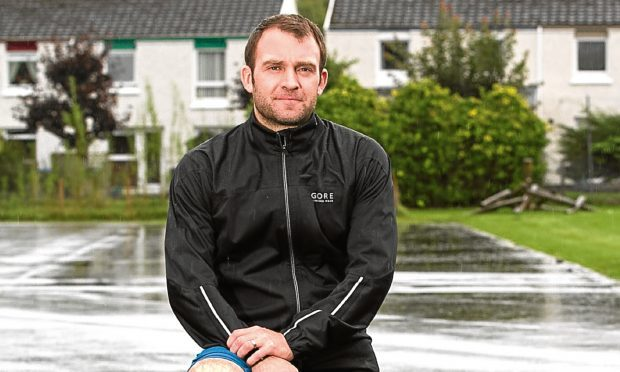 Richard Edge is running for charity (Sunday Post)