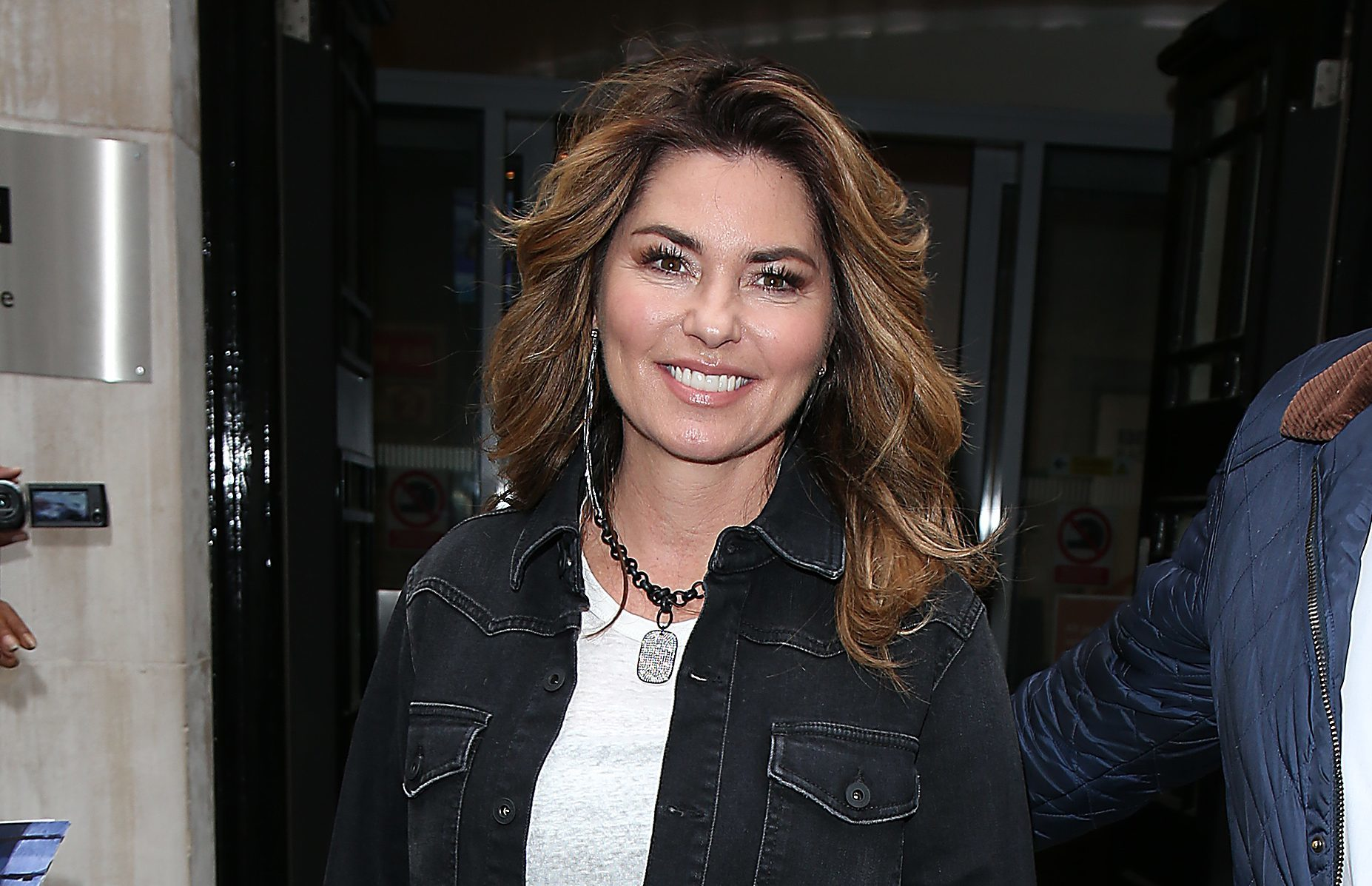 Shania Twain seen at BBC Radio 2 Studios (Neil Mockford/GC Images)