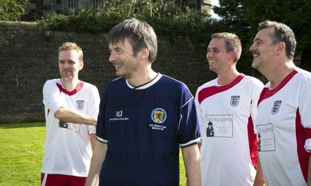 Ian Rankin will captain the Scotland team (Eoin Carey)