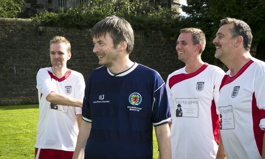 Ian Rankin will captain the Scotland team (Eoin Carey)