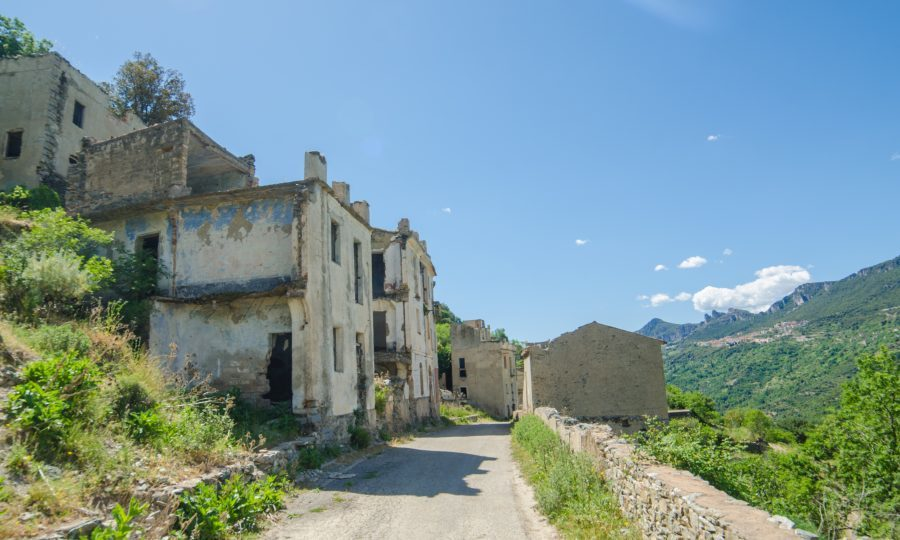 Mountain village Old Gairo Vecchio was destroyed by a catastrophic alluvial flood in 1951 (Getty Images/iStockphoto)
