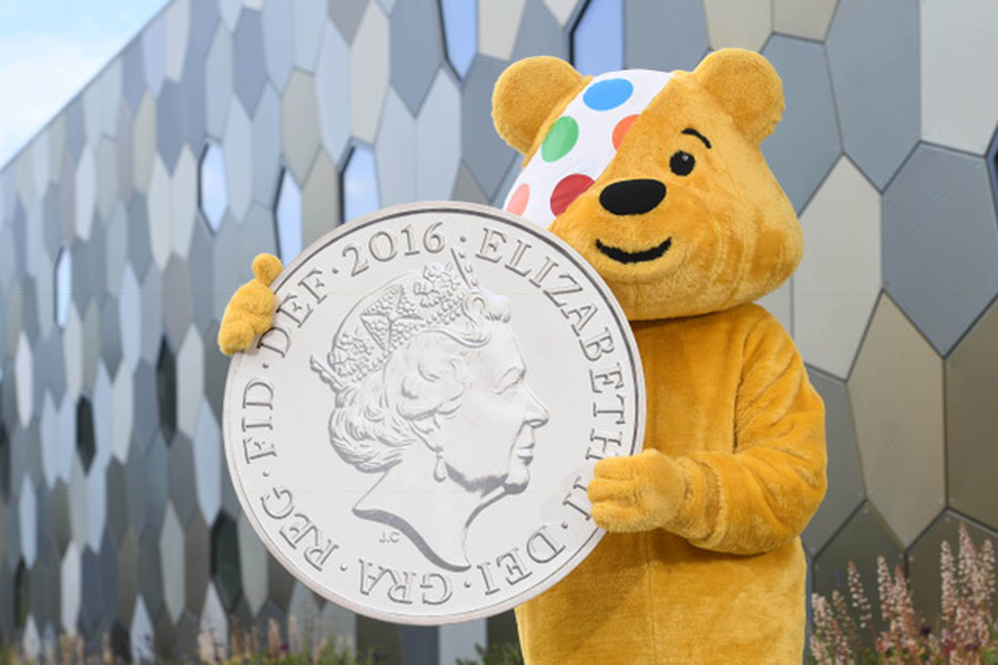 Pudsey needs your help (Tom Martin / Treasury/ PA Wire)