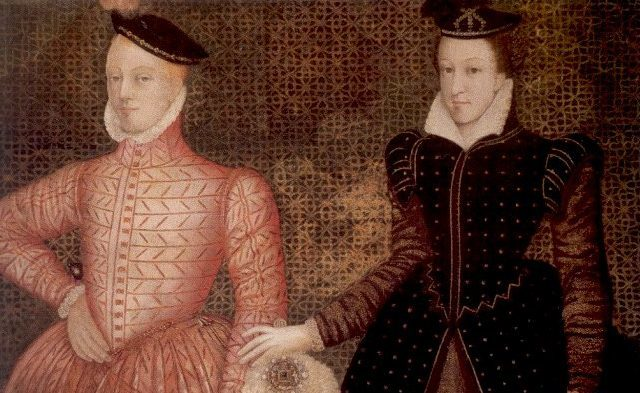 Lord Darnley and Mary, Queen of Scots (painting of circa 1565, now at Hardwick Hall)
