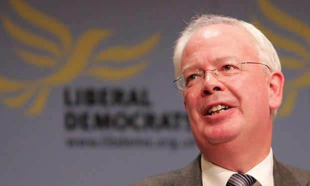 Scotland's former Deputy First Minister Jim Wallace (Martin Rickett/PA)